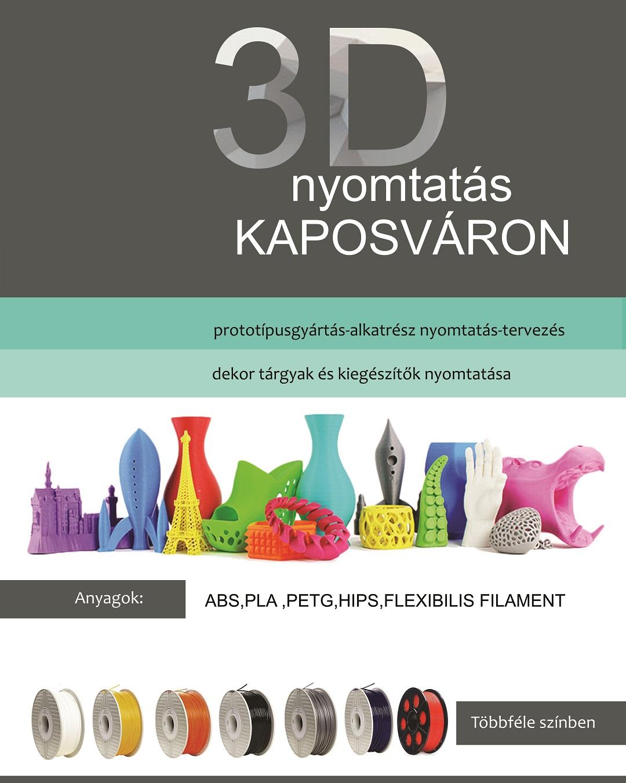 bf9309cf3c 3D nyomtatás Kaposváron - Irodatechnika Kaposvár - Kapos Copy Kft